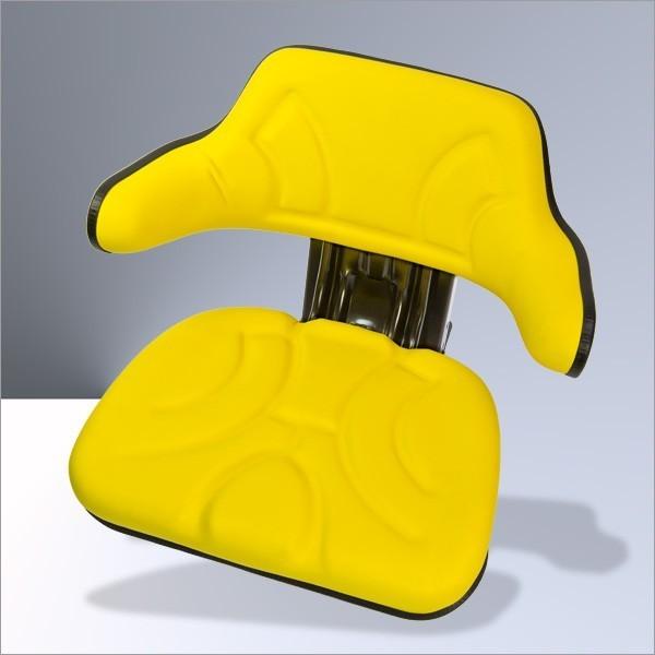 traktorsitz treckersitz schleppersitz gelb armlehne. Black Bedroom Furniture Sets. Home Design Ideas