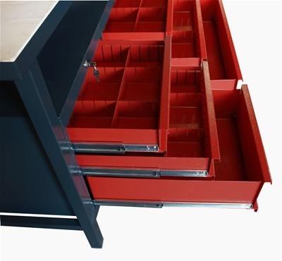 profi werkbank mit 6 schubladen. Black Bedroom Furniture Sets. Home Design Ideas