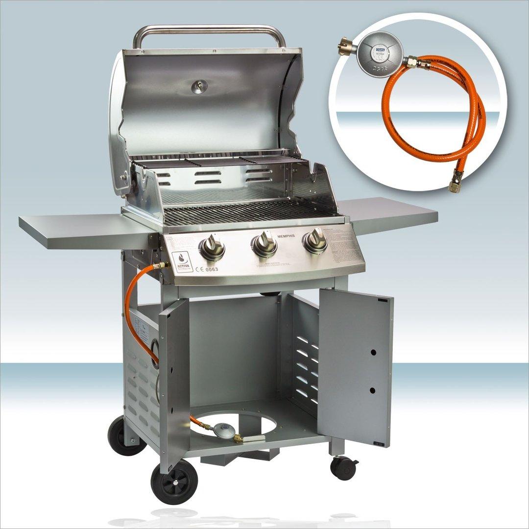 emaillierten grill reinigen
