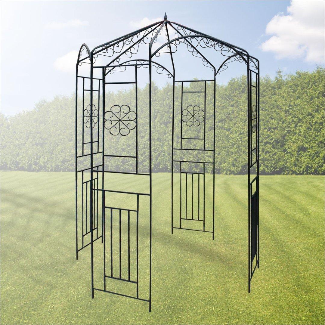 pavillon zauberwald rosenbogen rankhilfe spalier torbogen. Black Bedroom Furniture Sets. Home Design Ideas