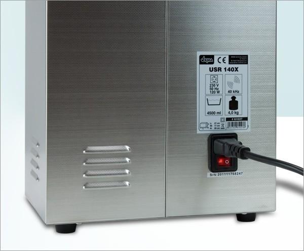 ultraschallreiniger ultraschallger t 120 140 heizung 4 5. Black Bedroom Furniture Sets. Home Design Ideas