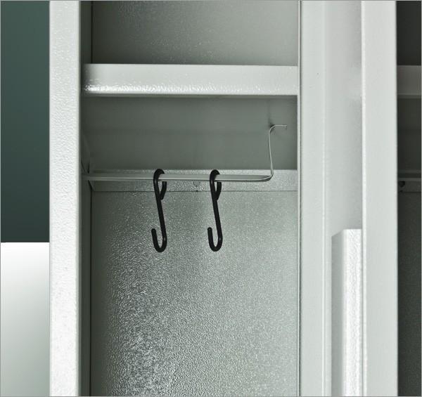 spindschrank 4 t rig grau. Black Bedroom Furniture Sets. Home Design Ideas