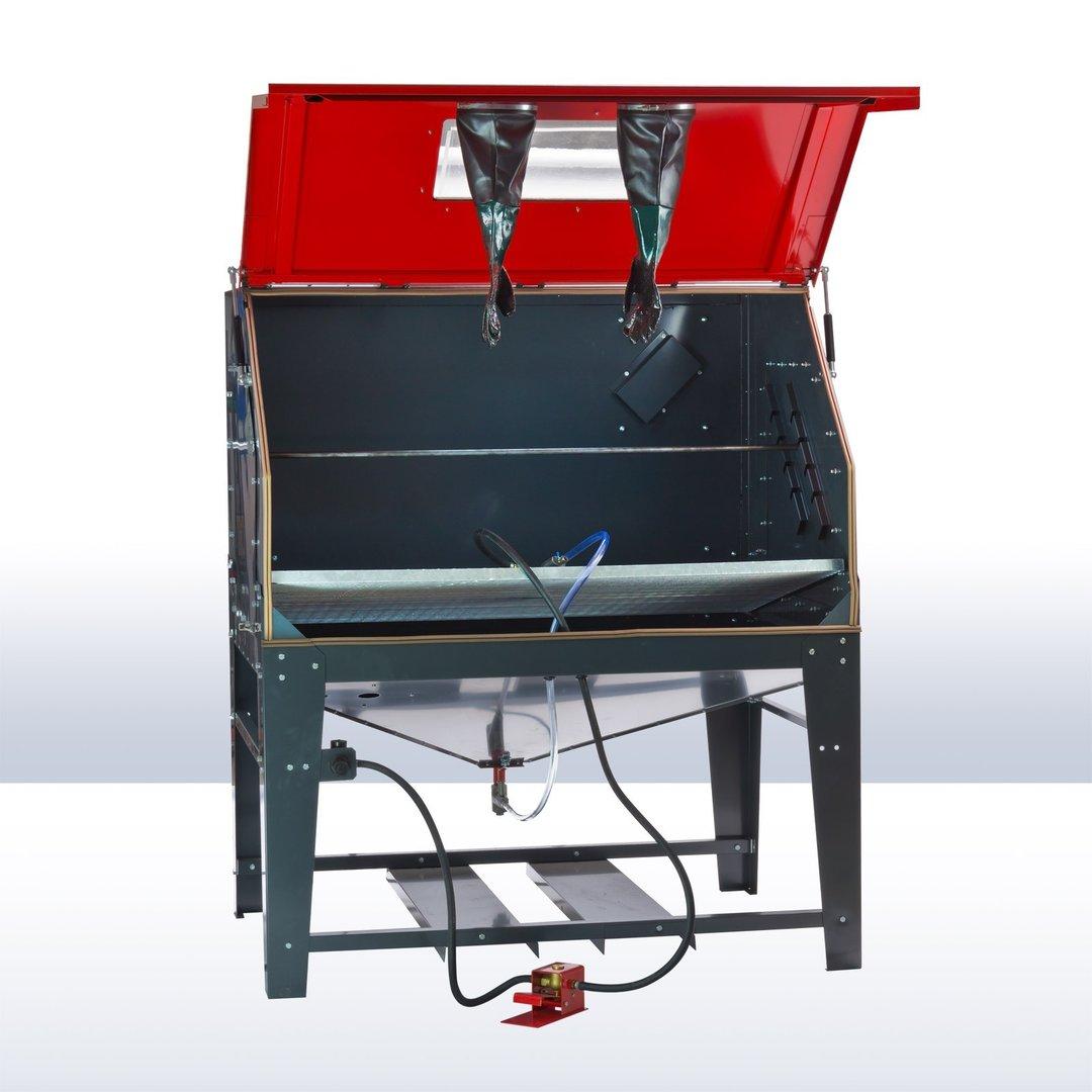 sandstrahlkabine xxl profi sk1200 liter profi sandstrahlger t. Black Bedroom Furniture Sets. Home Design Ideas