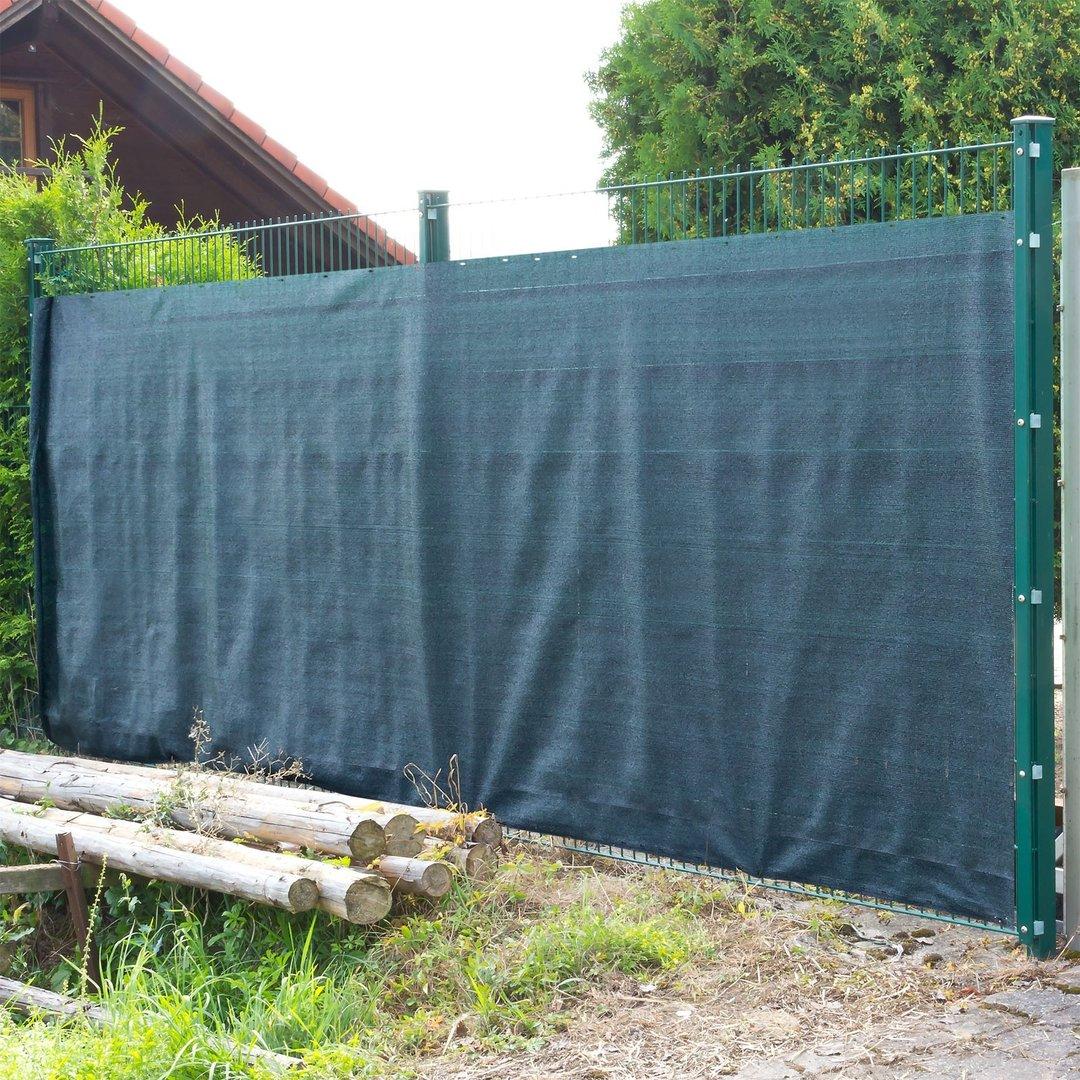 Schutzzaun Sichtschutz 25 x 1 8m absolut wetterfest