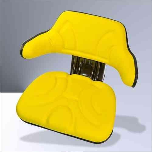 Traktorsitz Gelb + Armlehne