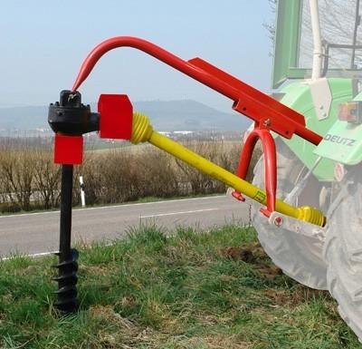 Erdbohrer 150 mm für Traktor über Zapfwelle