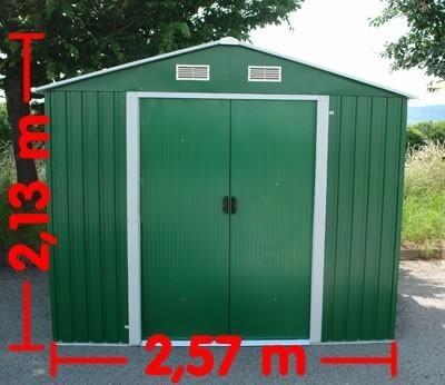Metall Gerätehaus XL 4,8m²