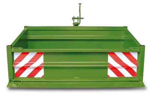Heckcontainer grün 1000 kg