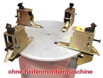 Motorradreifen Adapter Set 4tlg. für Reifenmontiermaschine