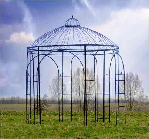 Gartenpavillon Exclusiv ØxH: 280x305 cm