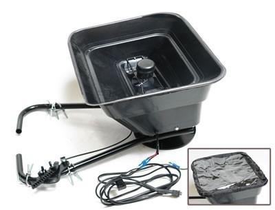 Salzstreuer Düngerstreuer 31L für ATV, Rasentraktor und Quad