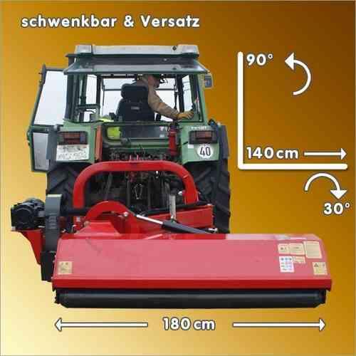 Schlegelmulcher Mulcher SLM 160S mit Versatz