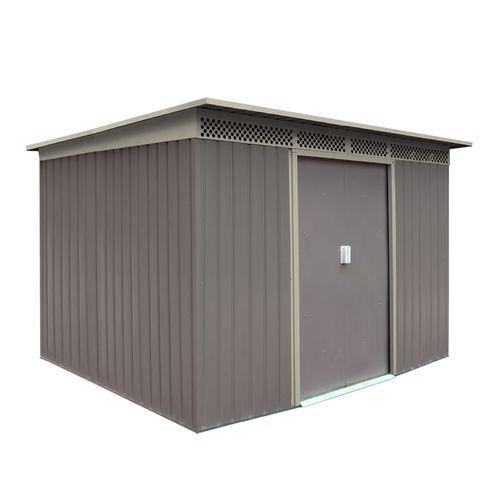 8m² Metall Gerätehaus