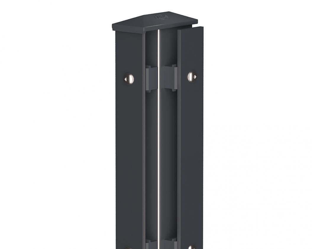Camas Eckpfosten Rechts Typ1 Standard anthrazit 1030mm