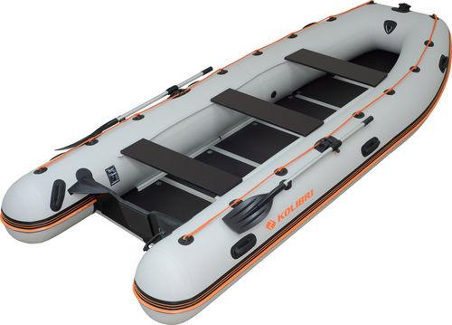 KM-400-DSL Motorboot + Alu/Holzboden