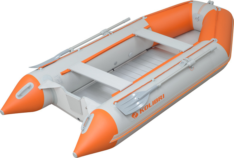 KM-330-D Motorboot + Alu/Holzboden