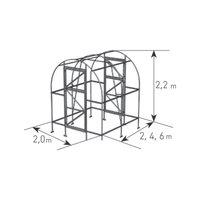 Aufbau Gewächshäuser Tunnel als PDF und Video