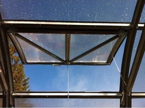 Zusatzfenster Gewächshaus